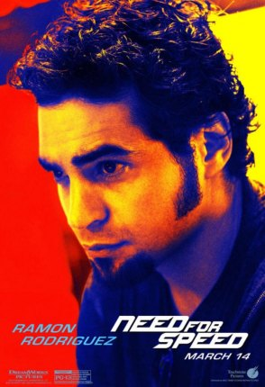Need for Speed Charakterposter Ramon Rodriguez
