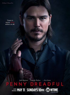 Penny Dreadful Poster Josh Hartnett