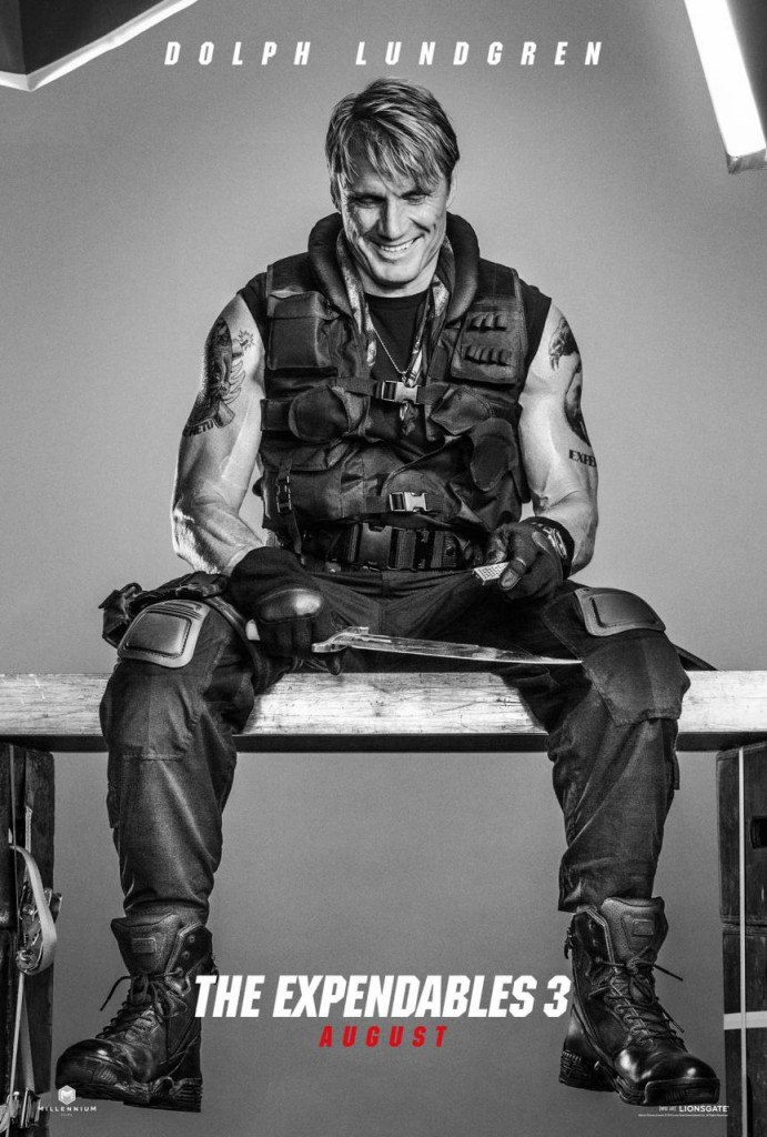 The Expendables 3 Trailer & Poster - Dolph Lundgren