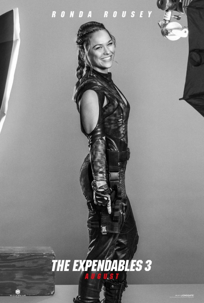 The Expendables 3 Trailer & Poster - Rousey