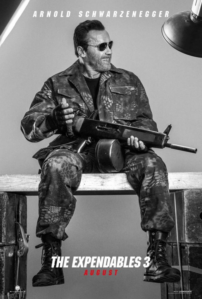 The Expendables 3 Trailer & Poster - Schwarzenegger