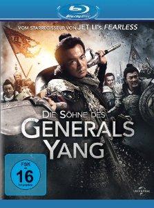Die Söhne des Generals Yang (2013) BluRay Cover