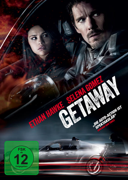 Getaway (2013) DVD-Cover