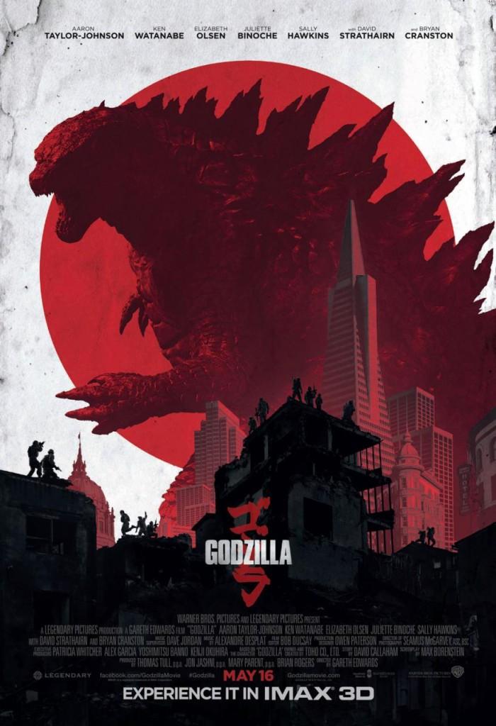 Godzilla japanischer Trailer & IMAX Poster
