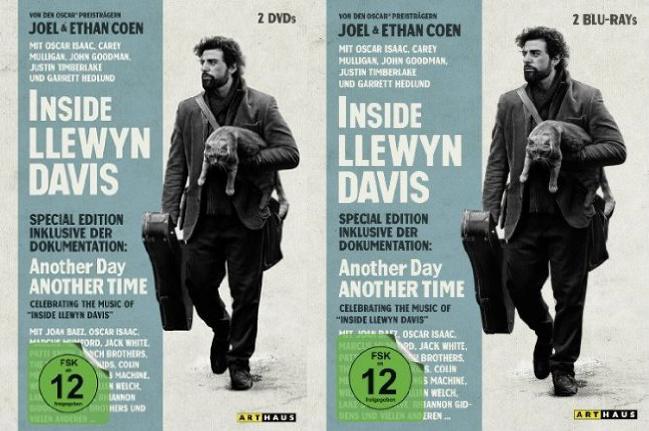 Inside Llewyn Davis Verlosung - DVD und BluRay