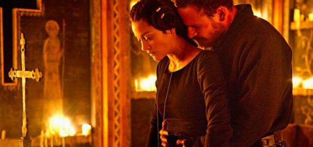 Michael Fassbender und Marion Cotillard als Lord und Lady Macbeth