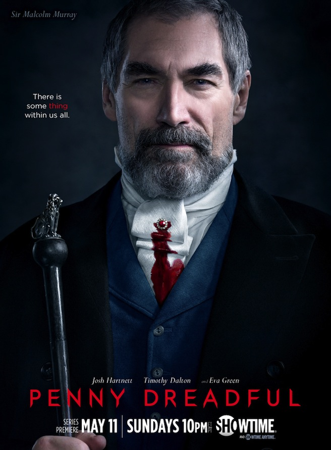 Penny Dreadful Plakate - Timothy Dalton