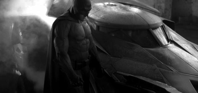 Zack Snyder enthüllt Batman und sein Batmobil!