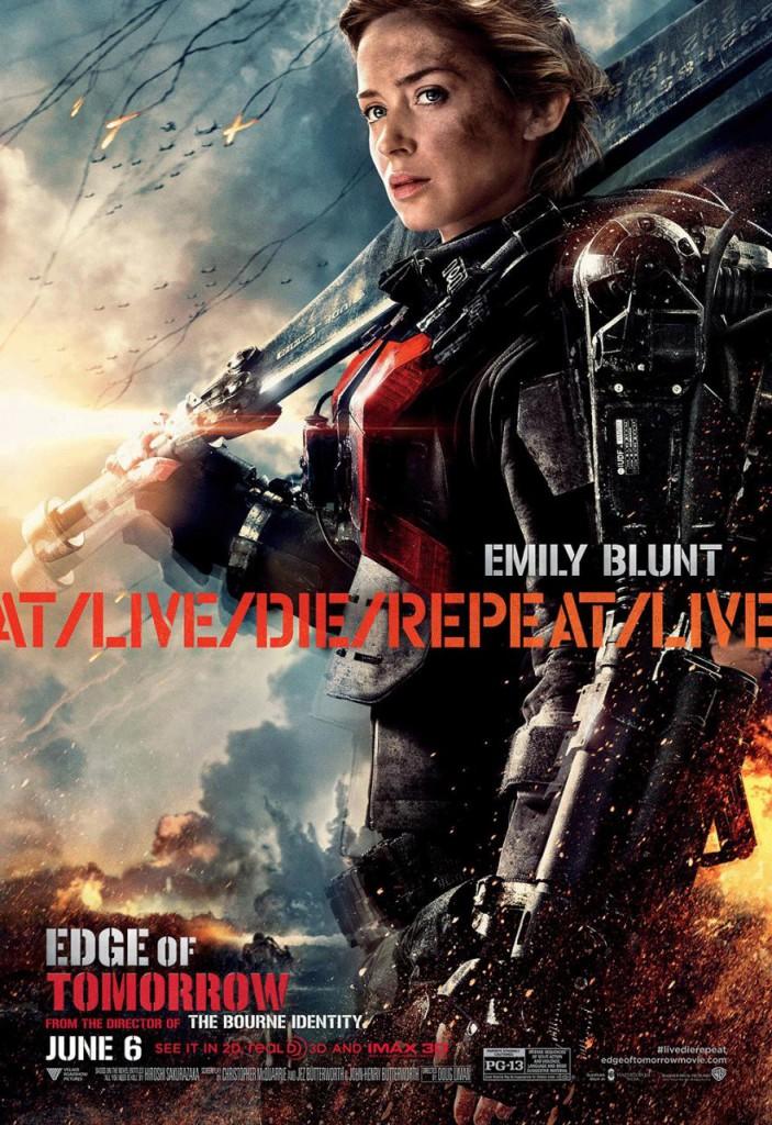 Edge of Tomorrow Plakate 3