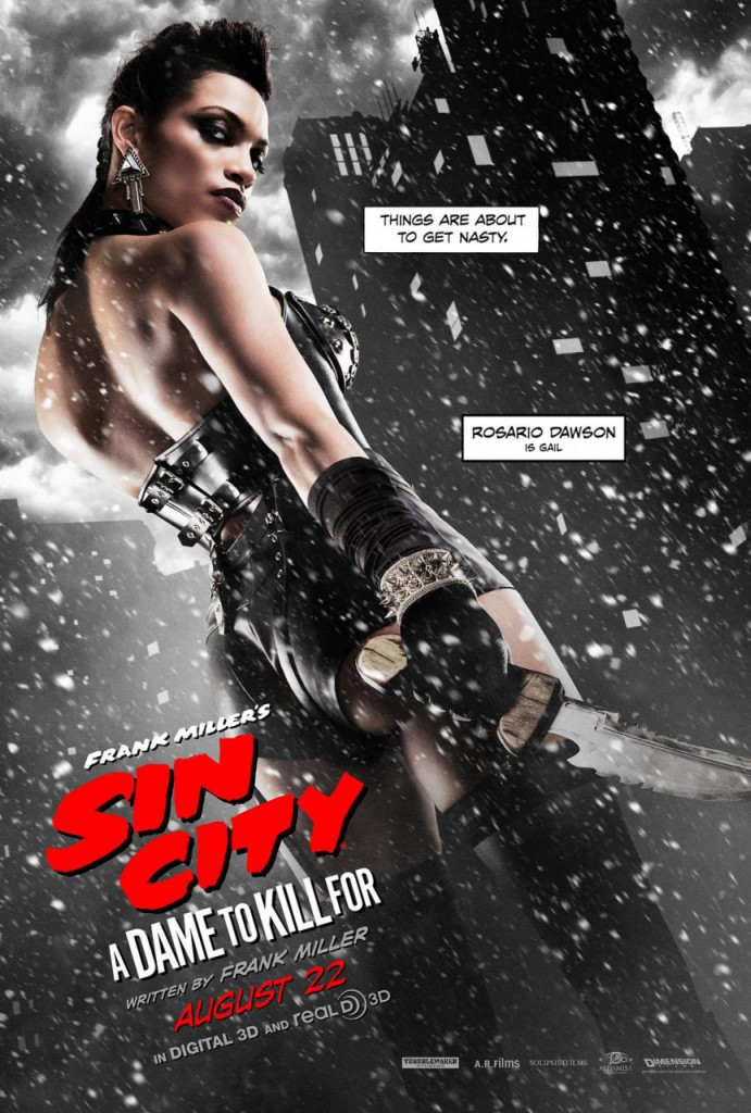 Sin City 2 Plakate Dawson