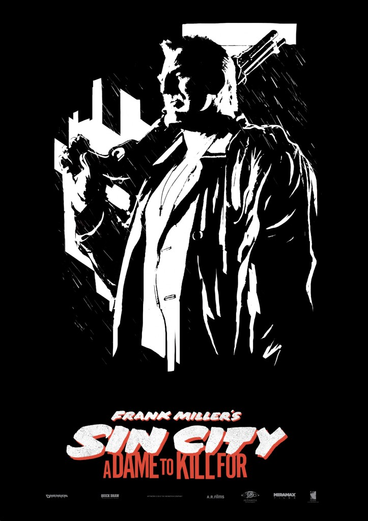 Sin City 2 Poster Mickey Rourke