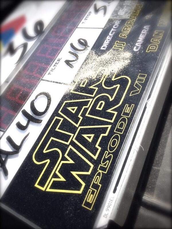 Star Wars Drehbeginn