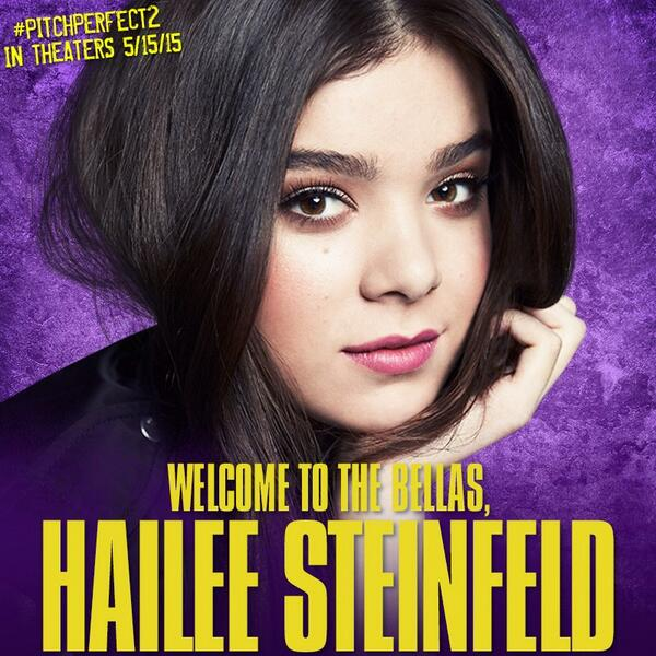 Hailee Steinfeld Pitch Perfect 2 Casting