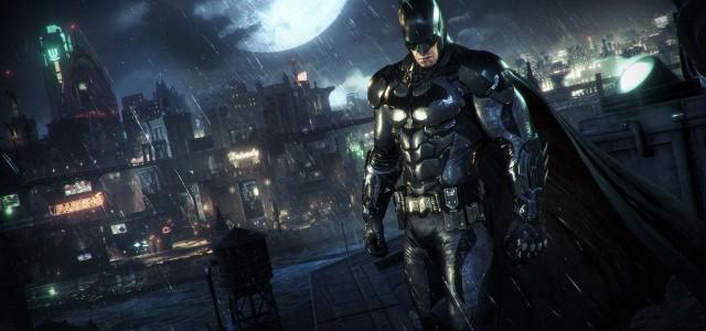 """Batman und sein Batmobil: die neuen """"Arkham Knight""""-Screenshots"""