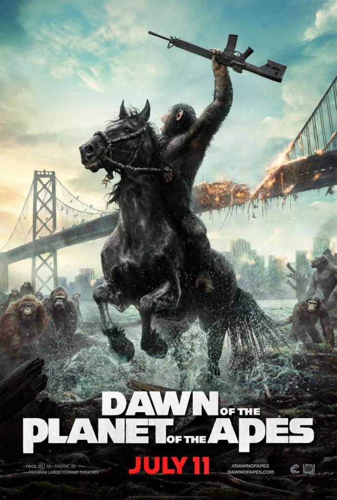Planet der Affen Revolution Poster 1
