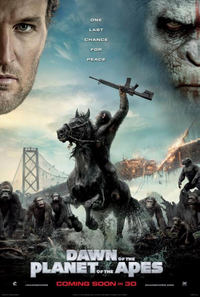 Planet der Affen Revolution Poster 2