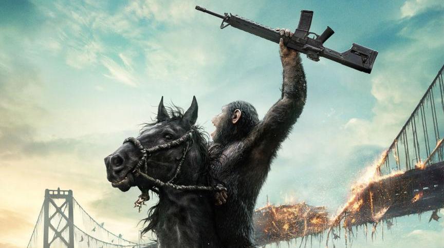 Planet der Affen Revolution Poster