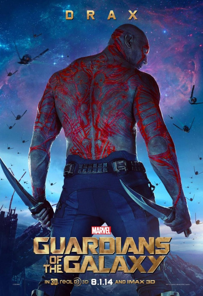 Guardians of the Galaxy Charaktere - Drax