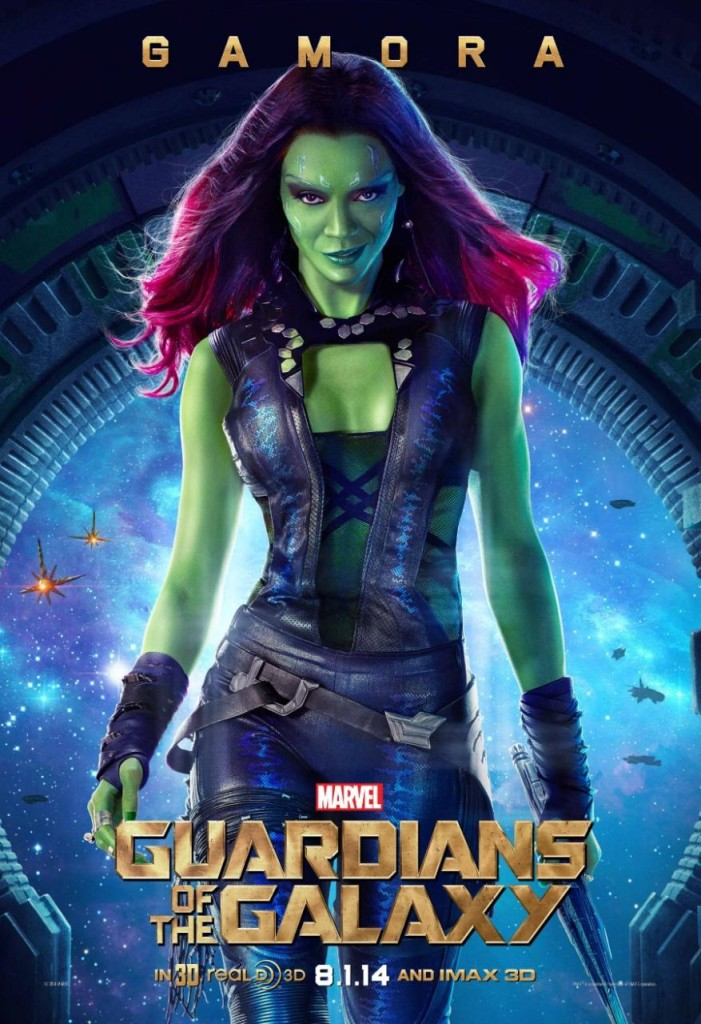 Guardians of the Galaxy Charaktere - Gamora