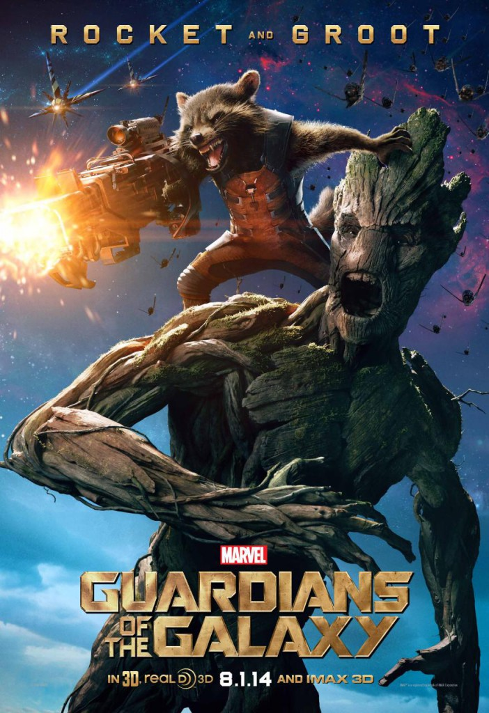 Guardians of the Galaxy Charaktere - Rocket & Groot