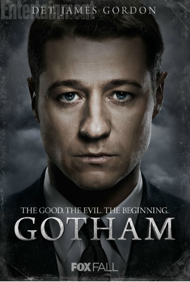 Gotham Charakterposter Jim Gordon