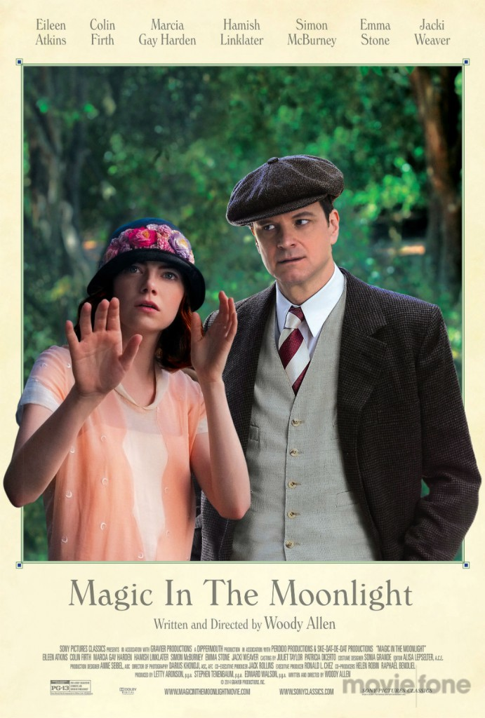Magic in the Moonlight Trailer & Poster