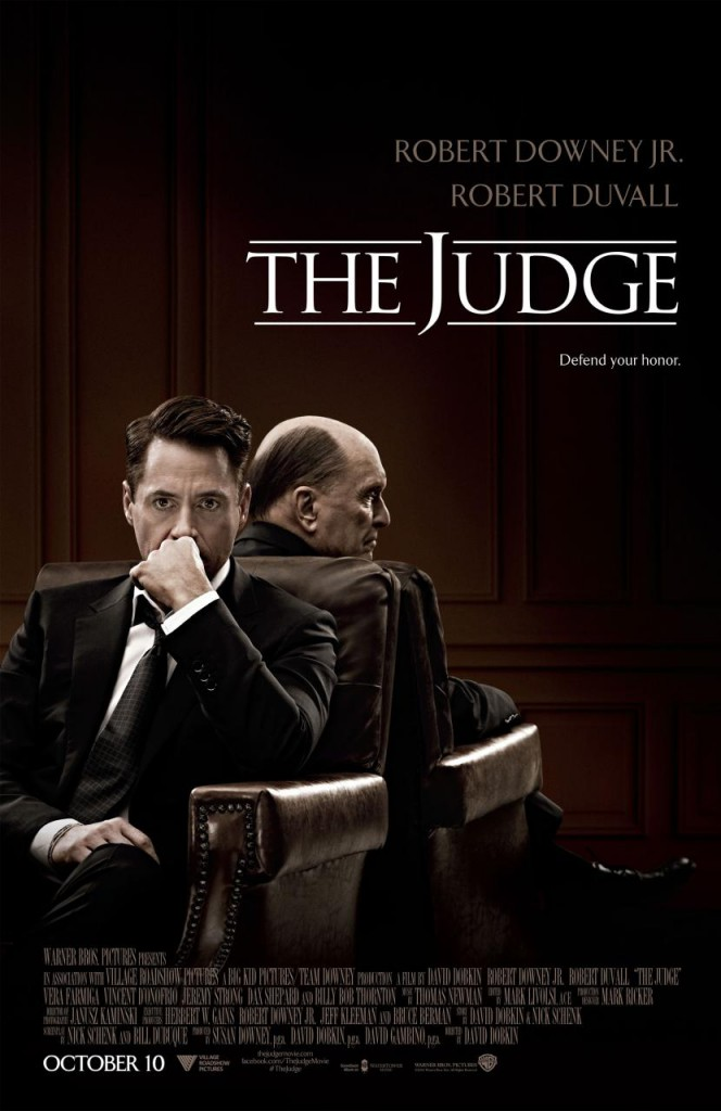 The Judge Trailer & Poster
