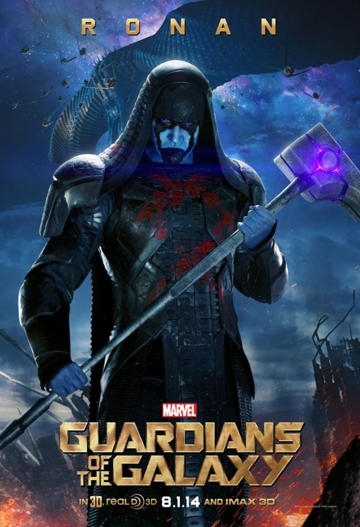 Guardians of the Galaxy Plakate Ronan