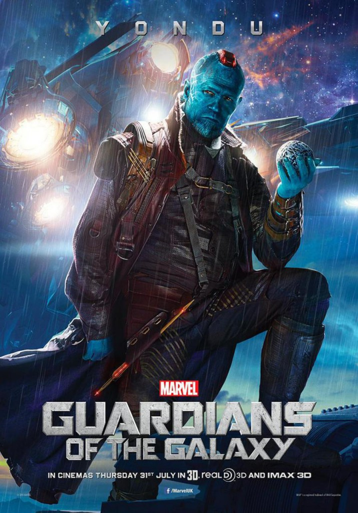 Guardians of the Galaxy Plakate Yondu