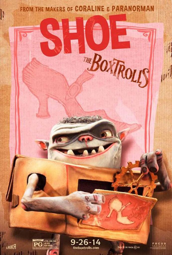 Die Boxtrolls Plakat 2