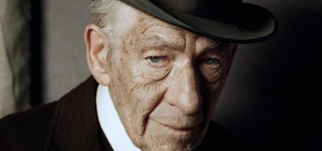 Hier ist Ian McKellen als 93-jähriger Sherlock Holmes