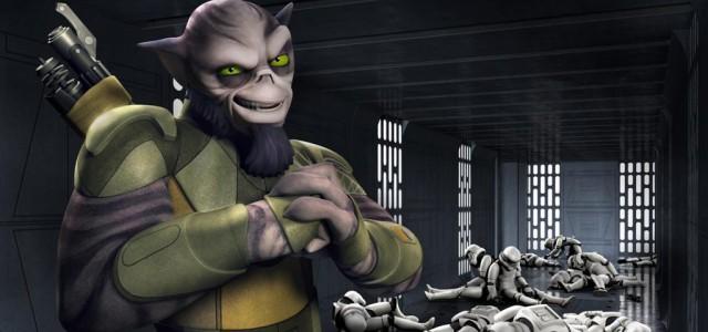 """Zeb verprügelt die Stormtroopers im neuen """"Star Wars Rebels""""-Clip"""