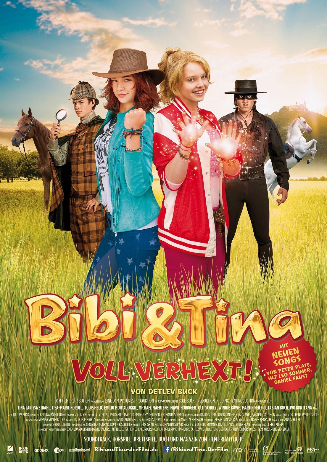 bibi  tina  voll verhext teaser und hauptplakat zur