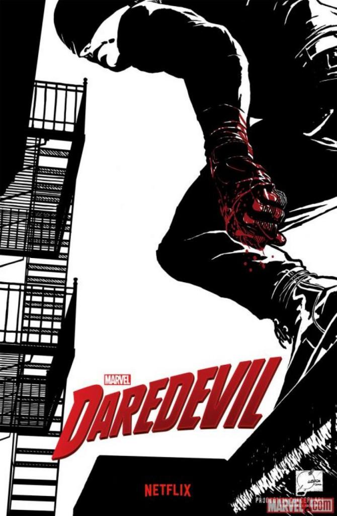 Daredevil Netflix Poster