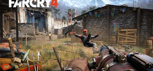 """Longinus hat die Waffen und Hurk kämpft mit Affen in """"Far Cry 4"""""""