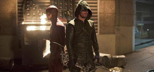 """Haufenweise Bilder aus beiden """"Arrow""""/""""The Flash""""-Crossover-Episoden"""