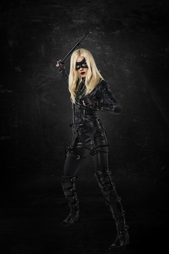 Katie Cassidy Black Canary 1
