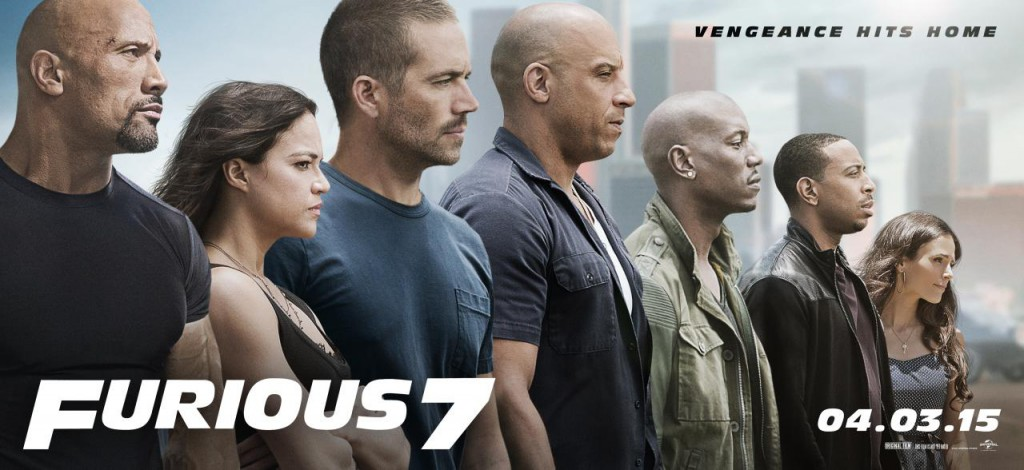 Fast & Furious 7 Trailer Banner