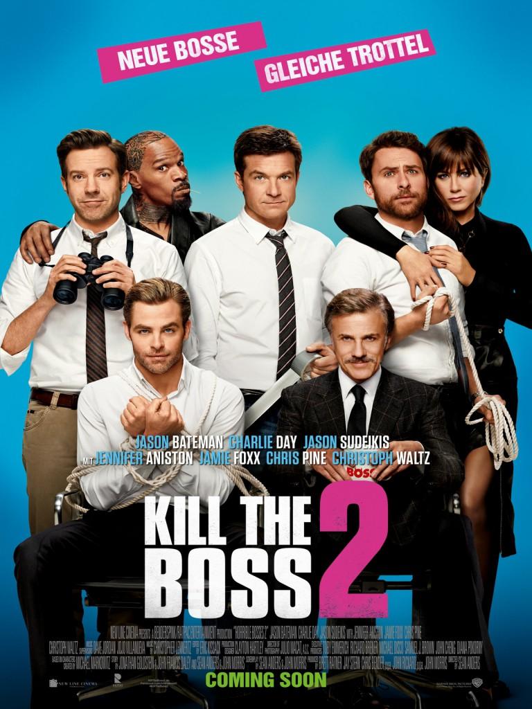 Kill the Boss 2 Poster deutsch