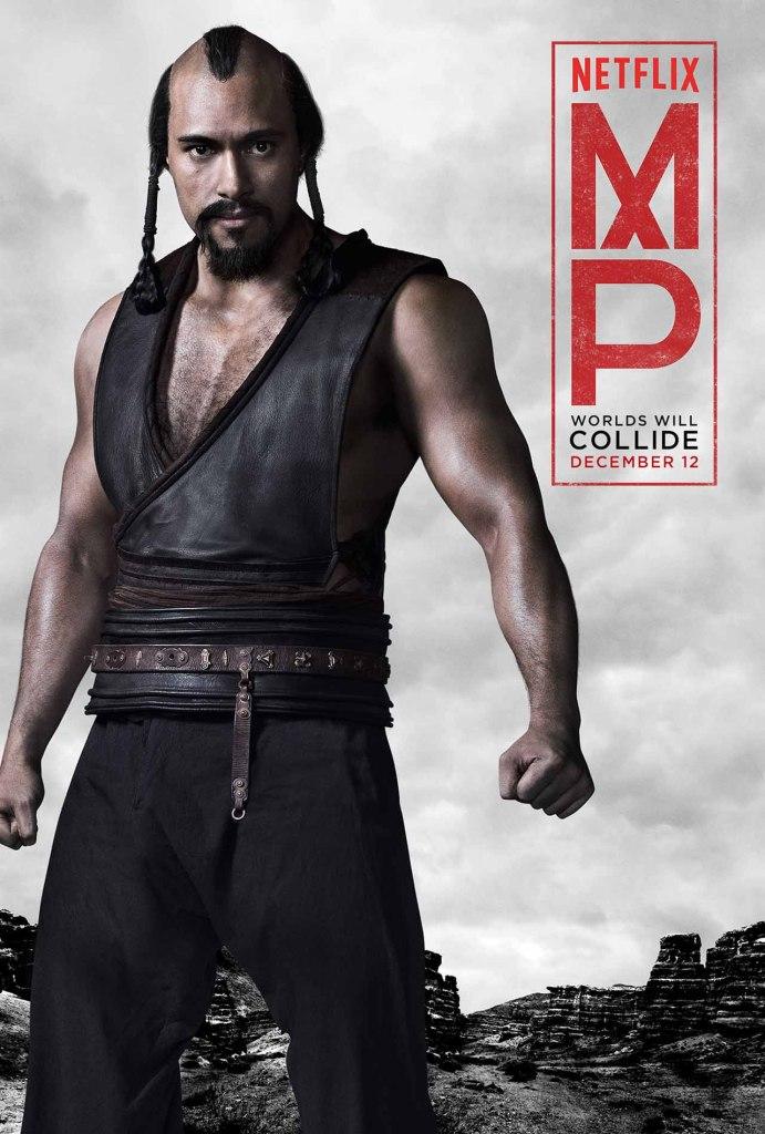 Marco Polo Trailer und Charakterposter 1