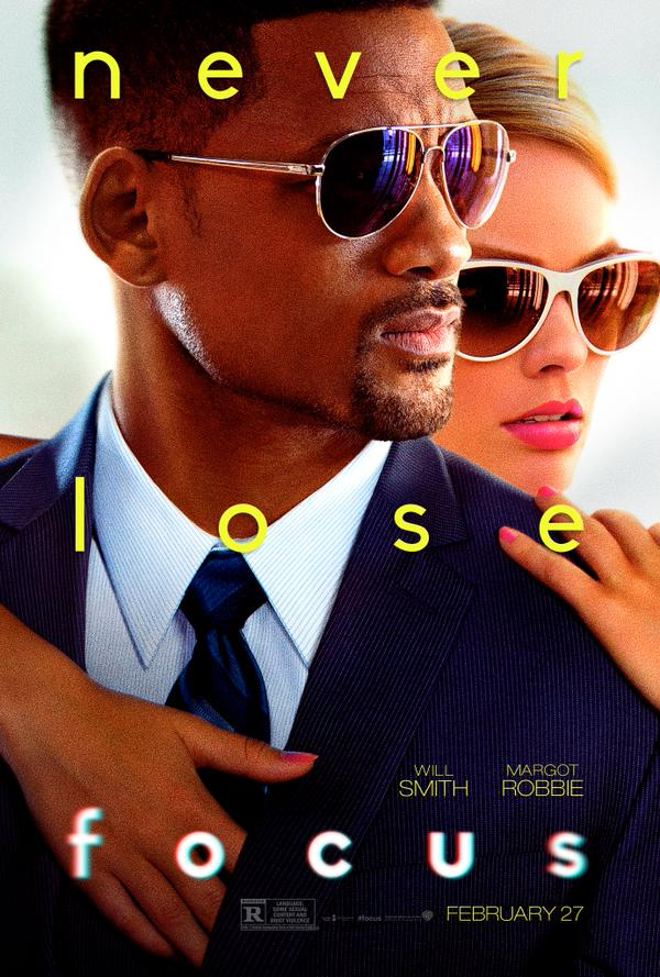 Will Smith Focus Poster