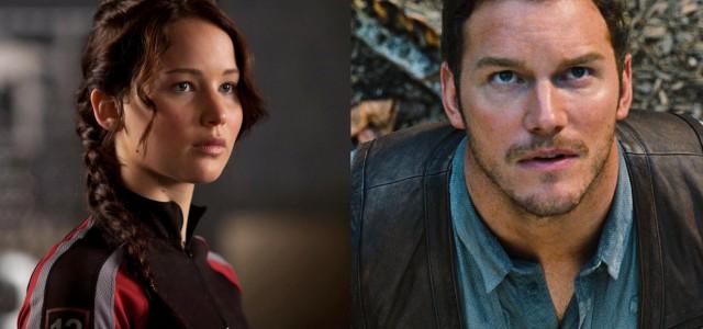 Jennifer Lawrence & Chris Pratt im Gespräch für Sci-Fi-Film Passengers