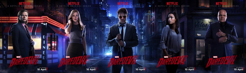 Daredevil Serie Poster Spot