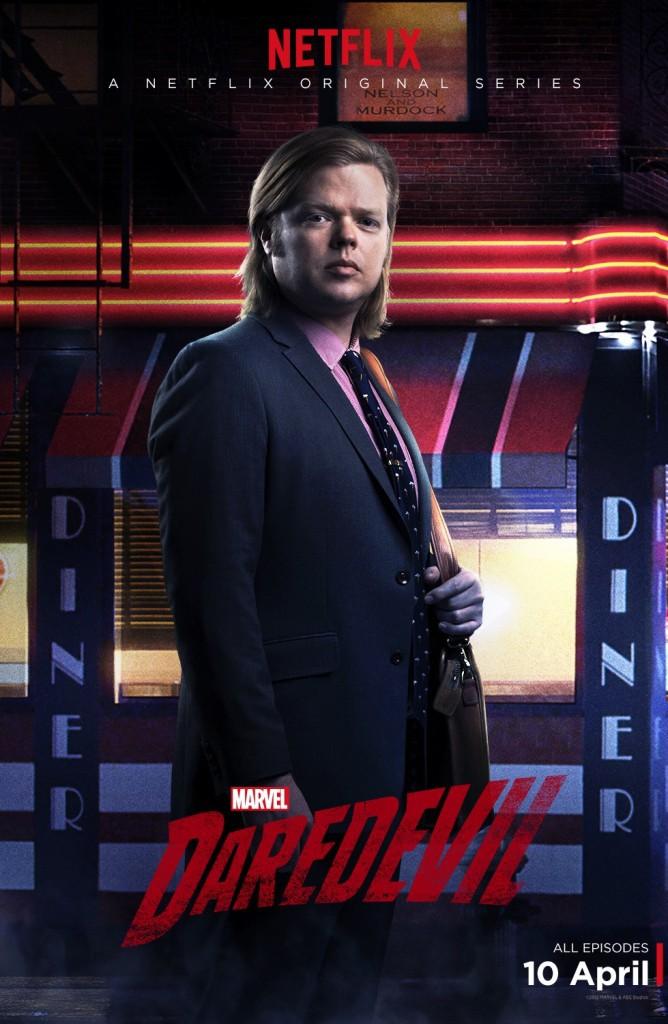 Daredevil Serie Poster Foggy Nelson