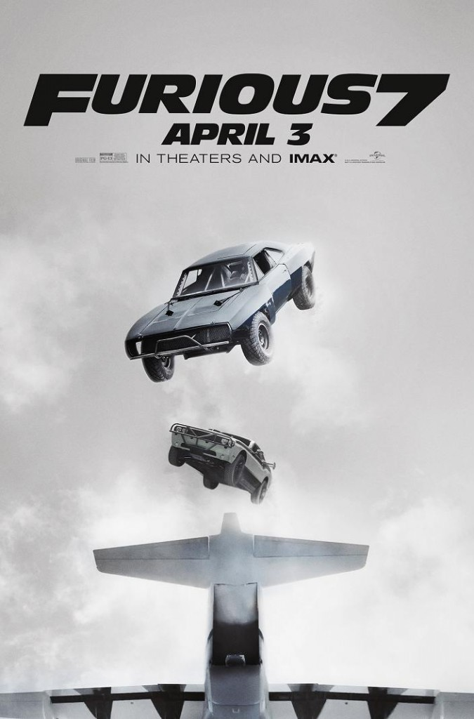 Fast and Furious 7 Clips Featurettes Plakat