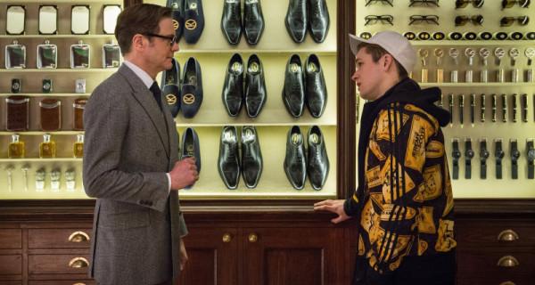 Kingsman The Secret Service Interview: Kingsman: The Secret Service: Colin Firth And Taron