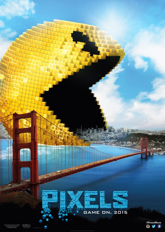 Pixels Trailer & Poster