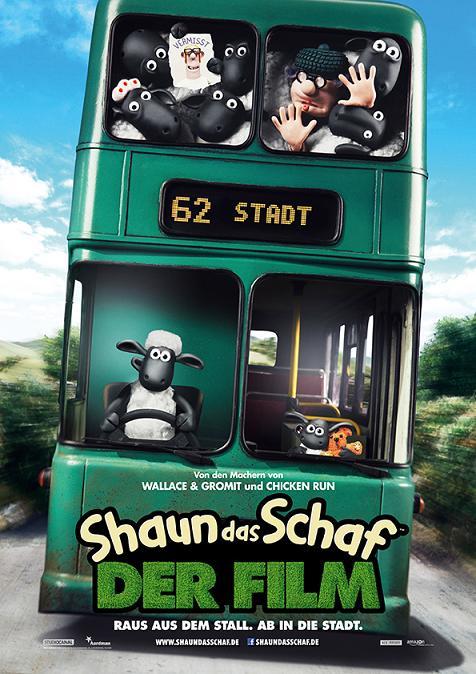 Shaun das Schaf Gewinnspiel Poster