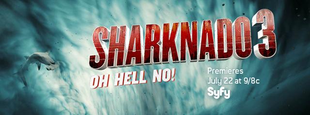 Sharknado 3 Start Titel