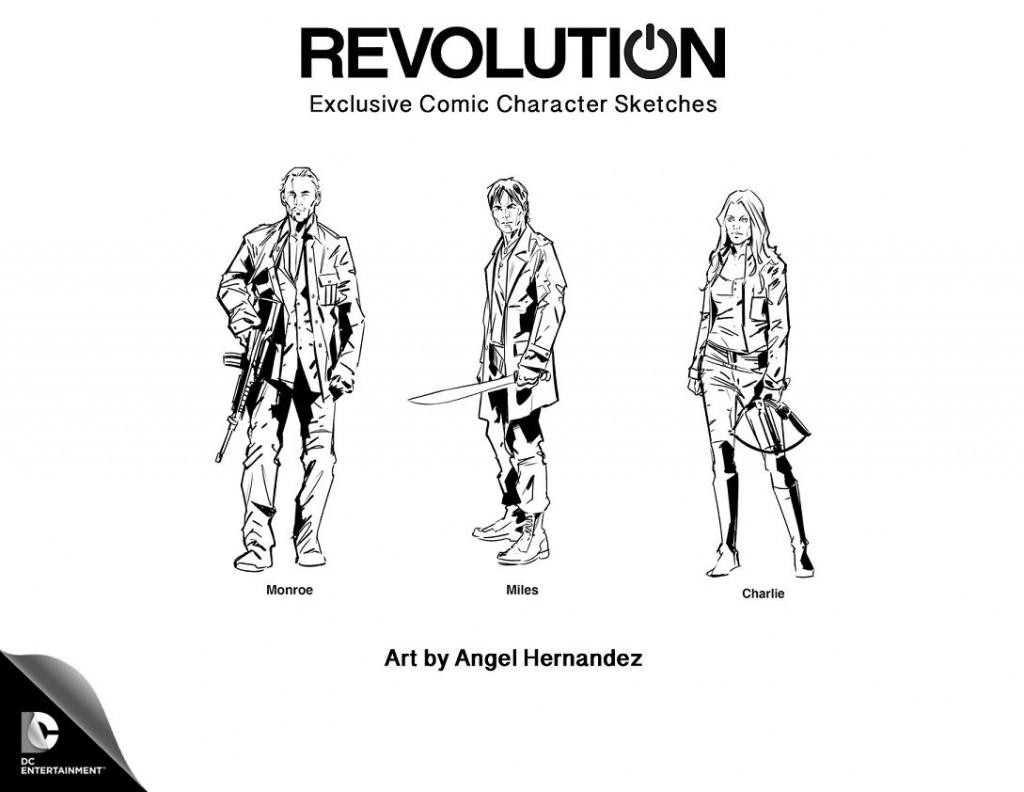 Revolution Finale Comic Charaktere
